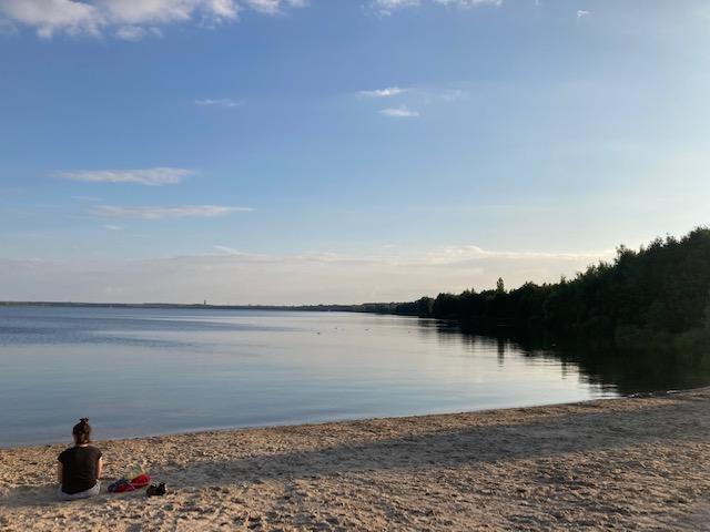 Schreiben am See